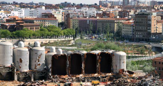 La justicia corta el sue o urban stico del atl tico - Paseo imperial madrid ...