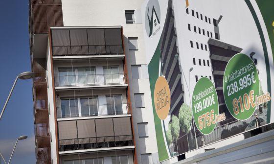 Catalu a acumula pisos nuevos sin vender en - Obra nueva en sant joan despi ...